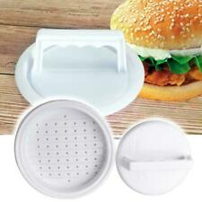 Kitchen Hamburger Meat Beef Maker Grill Burger Patty Press Mould New Tool M2T5