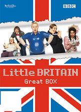 Little Britain - Great Box (2008) Die komplette Serie + Bonus DVD NEU