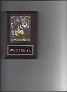 ROBERT GRIFFIN III PLAQUE WASHINGTON REDSKINS FOOTBALL NFL