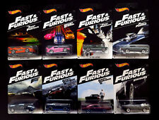 Hot Wheels Fast & Furious 2016 8 Die-cast Cars Toyota Honda Ford Dodge Chevelle