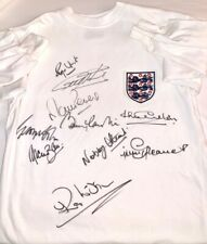 ENGLAND 1966 SIGNED SHIRT TOFFS WORLD CUP AFTAL OnlineCOA