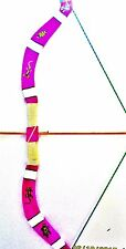 Arc +5 arrows wooden size 75 cm (child toy games) (artisan designer)