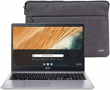 "New Acer 15.6"" Chromebook 315 Intel N4000 32Gb Webcam Ssd w/ Laptop Bag - Webcam"
