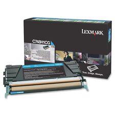 original Lexmark c748h3cg Tóner Cyan Azul C748H1CG a-artículo
