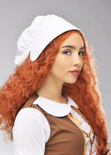 Adult Hetty Feather Style Ginger Wig and Hat