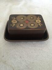 Denby Arabesque Butter Dish & Lid Retro Samarkand Gill Pemberton