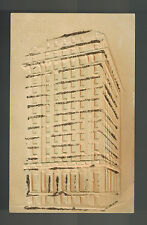 Mint Embossed Glitter Postcard Traders Bank Building Toronto Canada