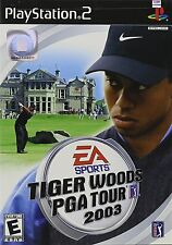 SONY PlayStation 2 PS2 Tiger Woods PGA Tour 2003 (COMPLETE)