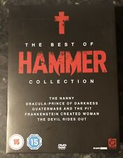 THE BEST OF HAMMER COLLECTION : HORROR DVD BOXSET (5-DISC DVD SET) GOOD AS NEW
