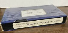 RADIOHEAD Live From The 10 Spot 1998 Capitol Records Promo VHS VIDEO No DVD
