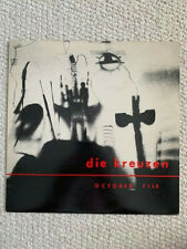 DIE KREUZEN OCTOBER FILE VINTAGE VINYL LP 1986 WITH POSTER     AMAZING CONDITION
