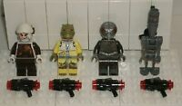 LEGO Star Wars Dengar Bossk 4-LOM IG-88 75167 Minifigure Bounty Hunter Pack