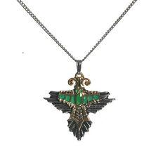 Miraywan Condor Bird Enamel Inca Achala Pendant Necklace IA08