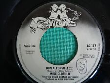 Mike Oldfield Rare 45 Single Vinyl Record  Don Alfonso / In Dulci Jubilo 1975