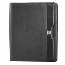 1 X A4 Cutter & Buck Zippered Compendium Genuine Leather Delivery Aust Wide