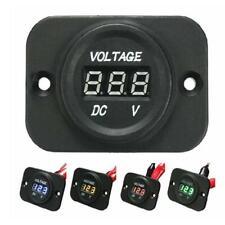 Waterproof DC 5-30V Digital Car Voltmeter LED Display Panel For AUTO Volt Tester
