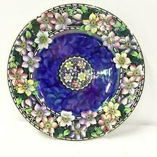 Maling Clematis Flowers Charger Plate #454