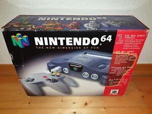 ## Nintendo 64 / N64 Konsole in Originalverpackung - gebraucht ##