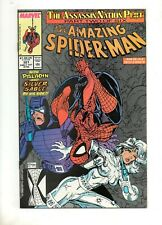 Amazing Spider-Man #321 SILVER SABLE COVER & STORY ART by MCFARLANE VF+ 8.5 1989