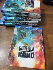 Godzilla Vs. Kong Blu-Ray +  DVD  + Digital Code  + slip + brand new!!
