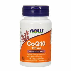 CoQ10 with Hawthorn Berry Vegetarian 30 Vcaps 100 mg