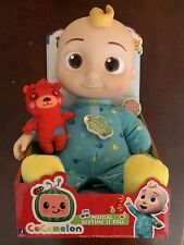 """Cocomelon Musical Bedtime JJ Doll & Teddy Soft 10"""" Plush Singing Toy YouTube"""