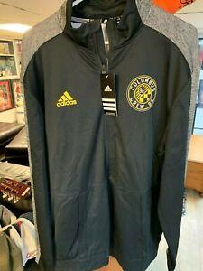 Columbus Crew Adidas full zip warm up jacket. Brand New!