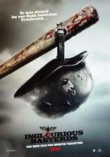 Tarantino INGLORIOUS BASTERDS original Kino Plakat A1 gerollt 2009
