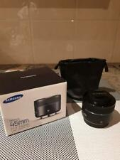 Samsung NX 45mm f1.8 Portrait lens - Near new condition