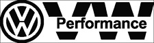 Performance VW Stickers - VW Car Vinyl Decal Sticker  - Volkswagen Tuning
