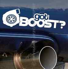 Got Boost Bumper Sticker Vinyl Decal JDM Dope ill Car Sticker fit Honda Vtec WRX