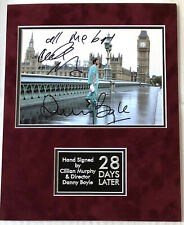 SIGNED CILLIAN MURPHY DANNY BOYLE 28 DAYS LATER MOUNTED PHOTO DISPLAY RARE
