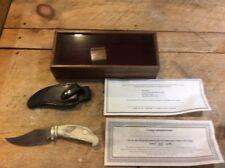 HARLEY DAVIDSON NOS COLLECTIBLE 10TH ANNIVERSARY  HOG KNIFE