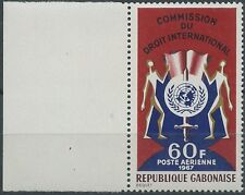 1963 GABON PA N°62** Commission du droit international, MNH
