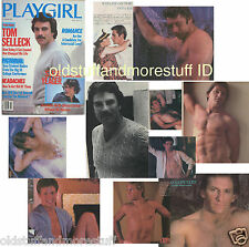 PLAYGIRL 10-82 HAIRY TOM SELLECK STEVE YEAGER D PETERS OCTOBER 1982