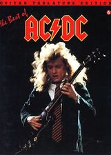THE BEST OF AC/DC - ANGUS YOUNG GUITAR TAB SONG BOOK