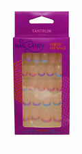 TANTRUM NAIL CANDY PRESS ON NAILS KIDS GIRLS CHILDREN TIPS MIXED COLOUR SPOTTED