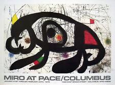 Joan MIRO 1979 at Pace Columbus (Horizontal) Art Print Poster