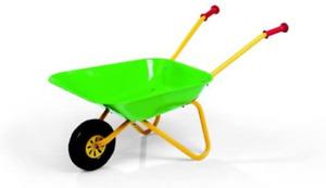 Rolly Toys 271801 Metal wheelbarrow Green