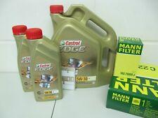 Hombre cambio de aceite frase y 7ltr. castrol 5w30-m aceite del motor BMW 5er f10/f11 y 7er f01