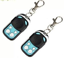 2X Universal 433.92MHZ Wireless Electric Gate Garage Fob Remote Control Cloning