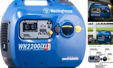 Westinghouse Wh2200ixlt Super Quiet Portable Inverter Generator 1800 Rated Amp 220