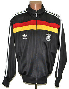 GERMANY NATIONAL TEAM 1990'S TRAINING FOOTBALL JACKET JERSEY ADIDAS SIZE M