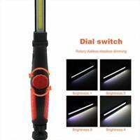 COB LED Work Light Mechanic Work Shop Inspection Lamp Torch Hand Rechargeab D1V6