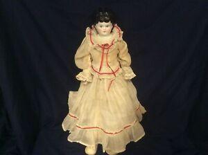 Antique Porcelain China Head Doll--1800's