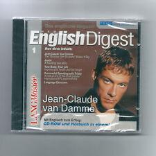 New English Digest 1 - Jean-Claude Van Damme, Trinity - CD-Rom + Hörbuch - OVP
