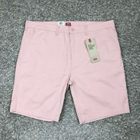 NWT Levi's Mens XX Chino Stretch Shorts Size 42 Pink Standard Taper Regular Fit