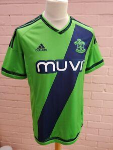 Southampton FC ADIDAS 2015-16 Away Shirt Jersey Trikot Size M Medium Green Saint