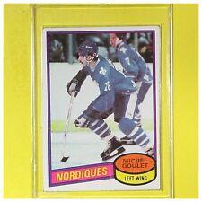 MICHEL GOULET  1980-81  ROOKIE   Topps  #67     Quebec Nordiques     LOT C