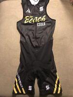 Men's Cal State Long Beach Triathlon Tri Suit Skinsuit Speedsuit Small S